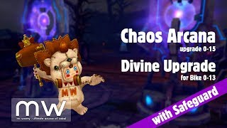 CABAL Online - Upgrade with Safeguards: Arcana of Chaos / Laws and Divine Upgrade for Bike