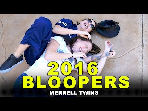 2016 Bloopers - Merrell Twins