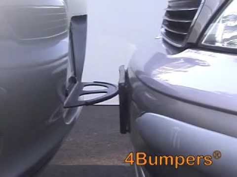 4Bumpers-THE BEST SOLID STEEL CAR BUMPER PROTECTOR - YouTube