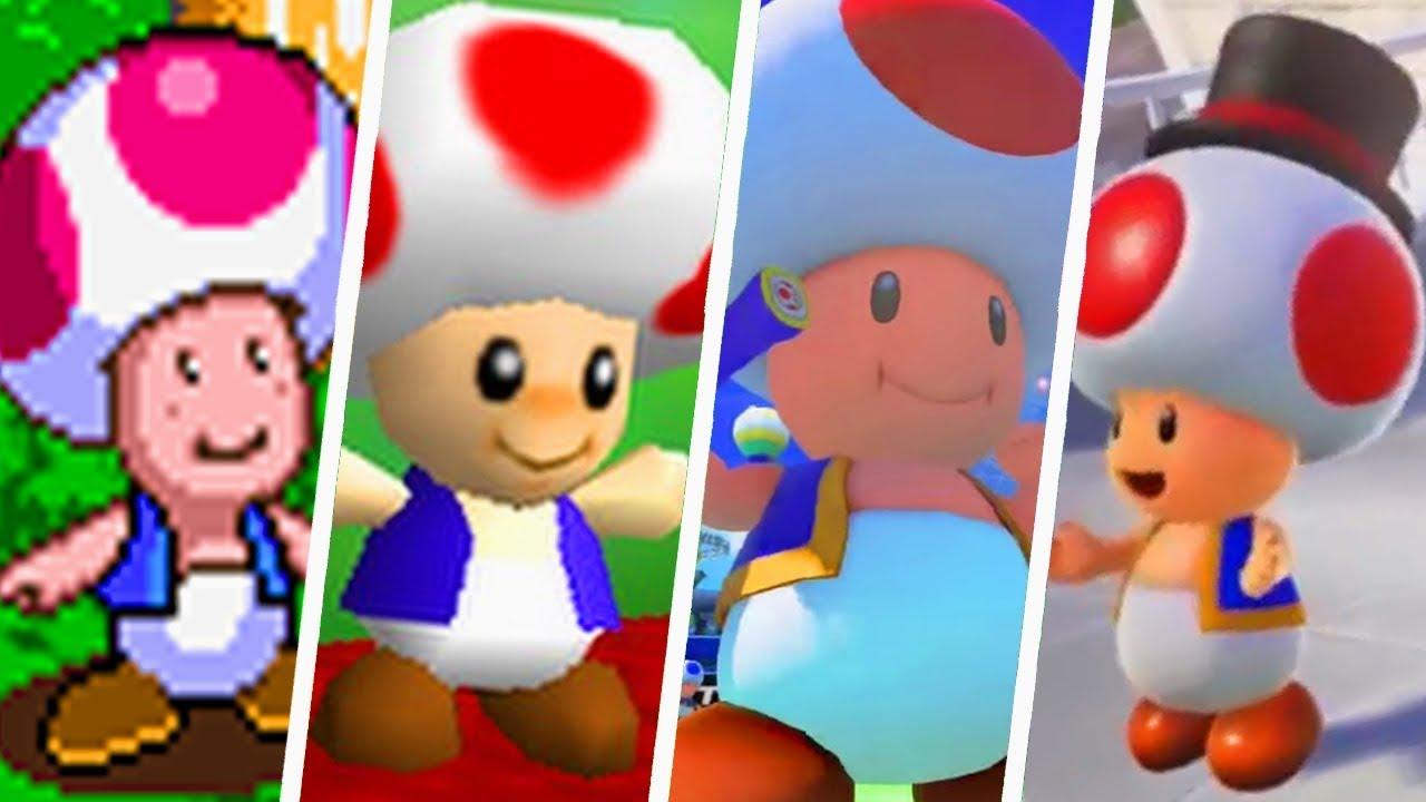 Download Super Mario Evolution of Toad's Voice (1994 - 2017)