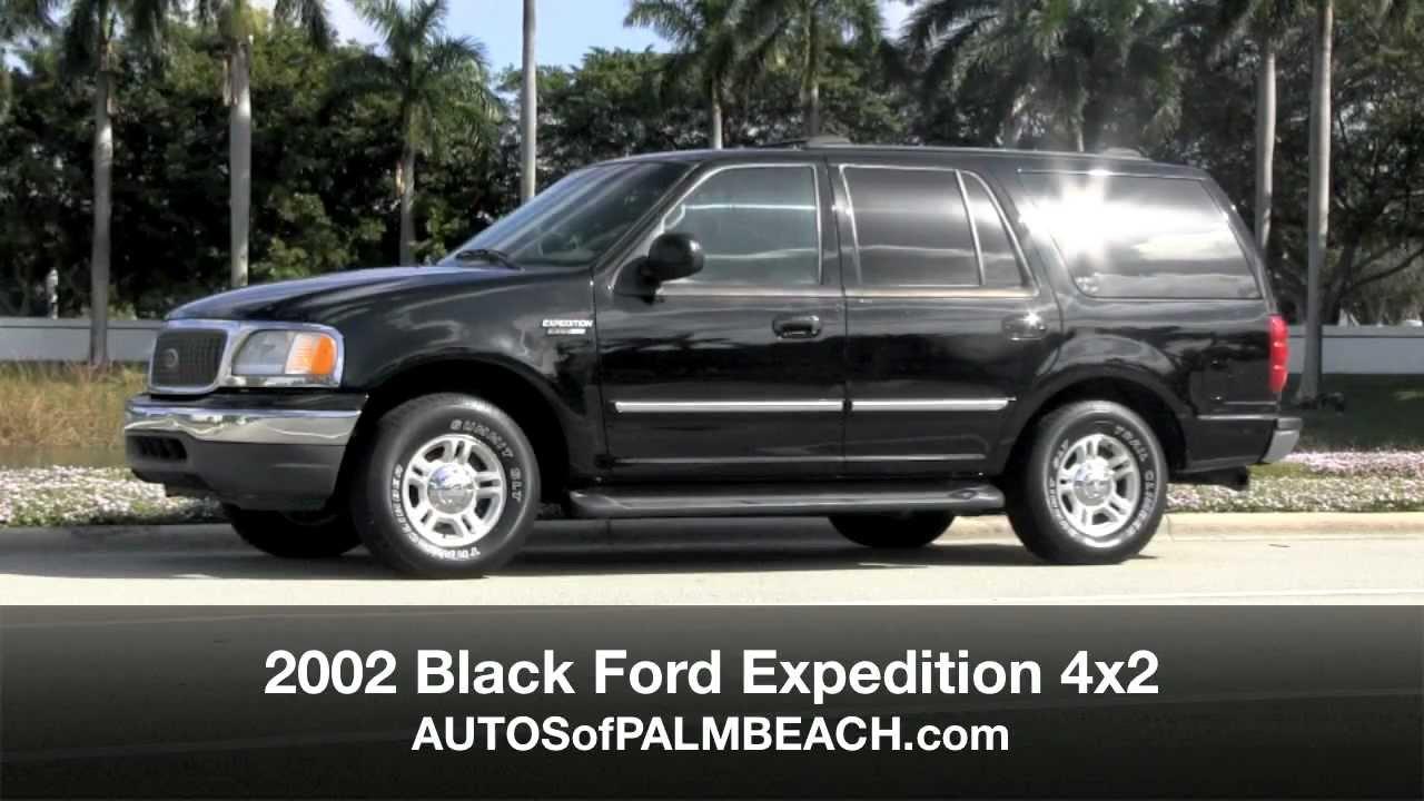 2002 ford expedition 4x2 black autos of palm beach a2891