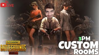 Custom Rooms Pubg Mobile Live Stream - Family Friendly | PAKISTAN INDIA