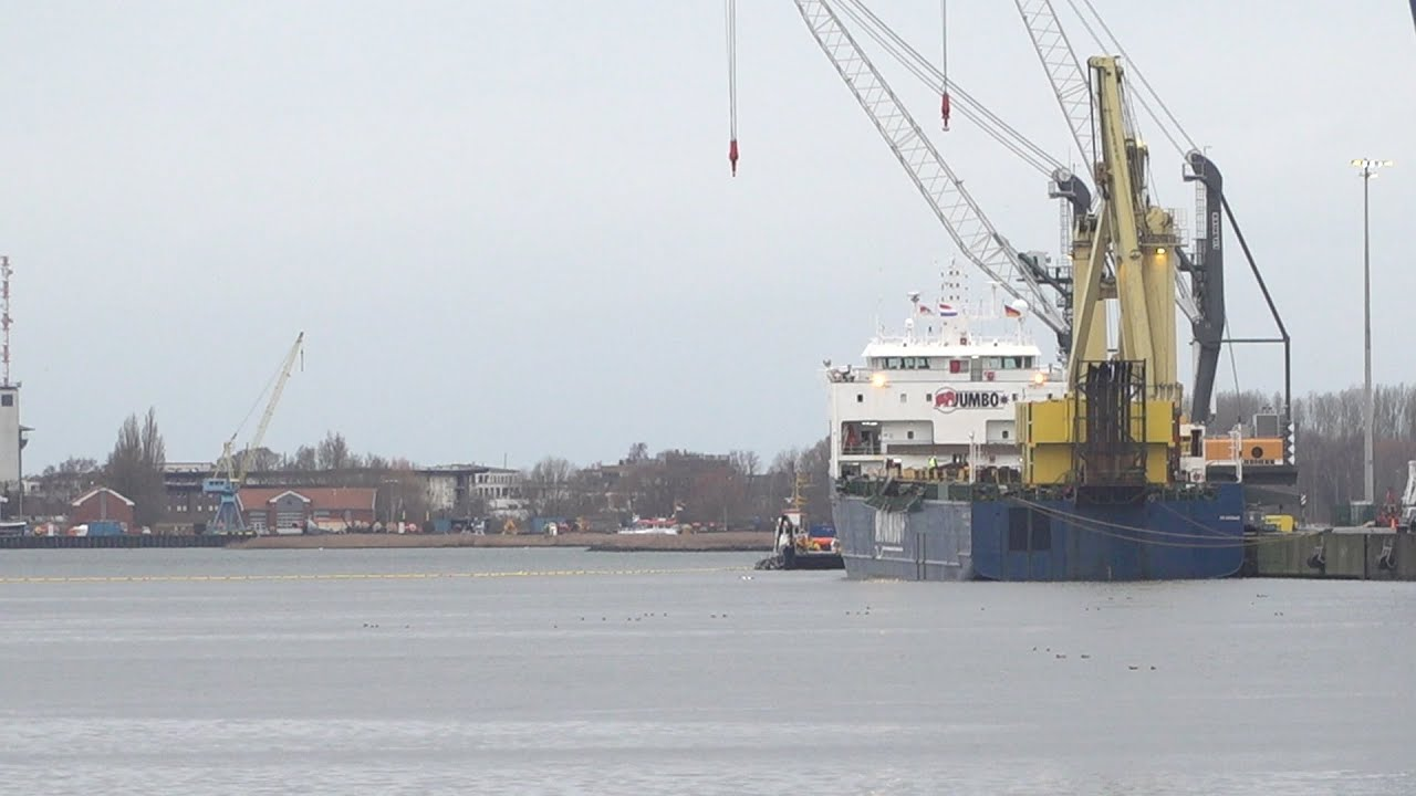 Kran Umgekippt Rostock