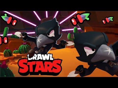 JUGANDO CON CROW en SUPERVIVENCIA   Analizando Brawl Stars