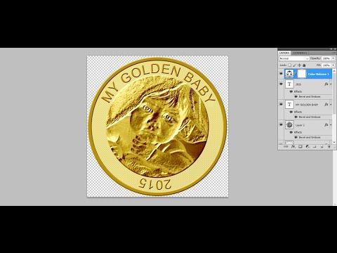 Custom Gold Coin Photo Tutorial