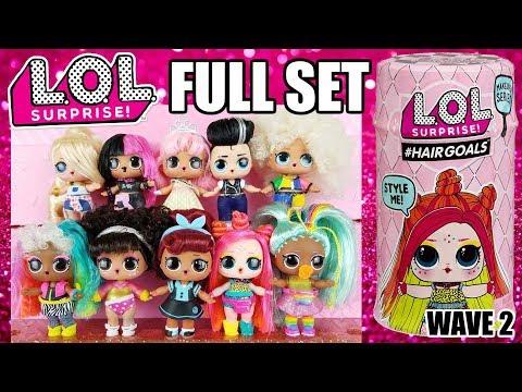 LOL Surprise  Makeover Series 5 Wave 2 Hairgoals  TOUGH GUY Boys Sparkle 1 3 5 6
