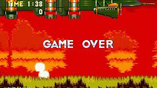 Sonic The Hedgehog 3 - Game Over