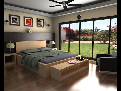 AUTO DESK Maya 48D Modeling A BED ROOM SET Part 48 YouTube Magnificent 3D Design Bedroom