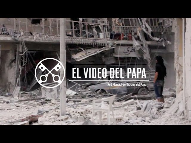 El Video del Papa 06-2017 – Eliminar el comercio de las armas – Junio 2017