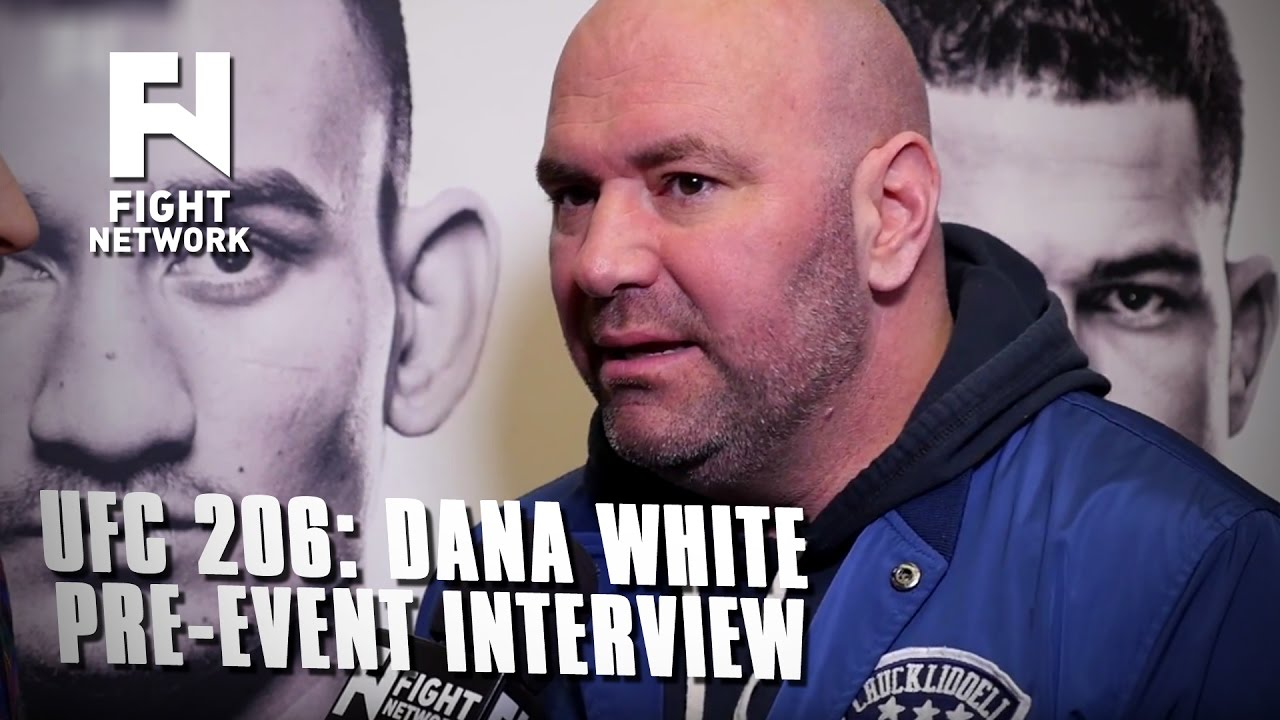 UFC 206: Dana White Pre-Event Interview on Pettis Missing Weight, GSP, Joe Rogan & Plans for 201