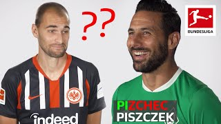 Player Spelling Challenge with Piszczek, Pizarro, Bas Dost & Co.