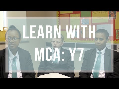 Learning With MCA: Year 7  Edition