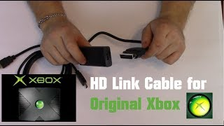 Pound Technology HDMI Link Cable for Original Xbox   Unboxing and Setup