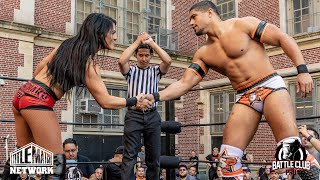 Tessa Blanchard vs Anthony Bowens (Intergender Wrestling) Battle Club Pro