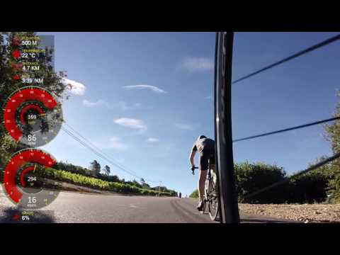 Climbing Mont Ventoux from Bedoin on 2016 08 03