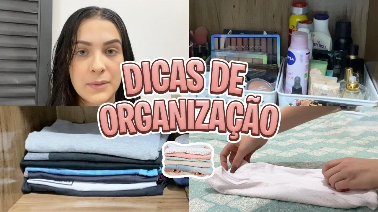 ORGANIZAÇÃO DO QUARTO / arrumei o guarda roupa e cômoda da baby