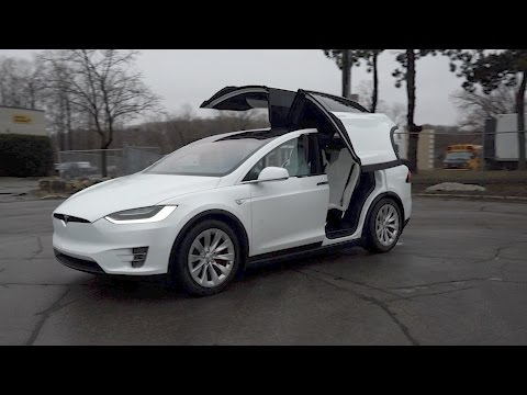 Video: We experience many firsts driving the Ferrari-fast Tesla Model X