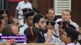 متهم فى 'أحداث الظاهر': لم يتم تنفيذ أوامر المحكمة بكتابة جملة إعادة محاكمة.. فيديو