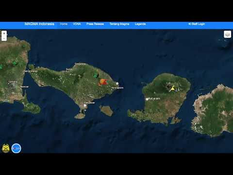 Bali Volcano (Agung) on Red Alert | w/LINK TO DATA