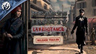 Hearts of Iron IV: La Resistance | Release Trailer