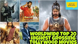 Worldwide Top 20 Highest grossing Tollywood Movies   Telugu movies   Box Office