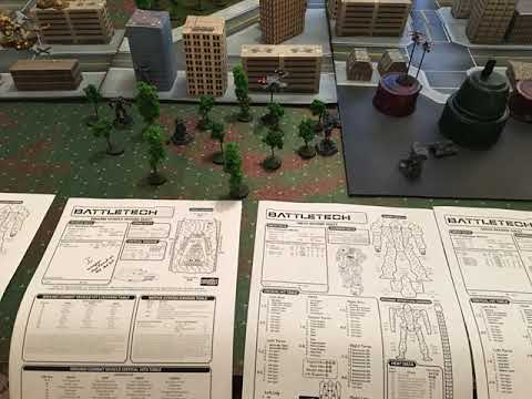 Setting Up For Your Next Battletech Game |