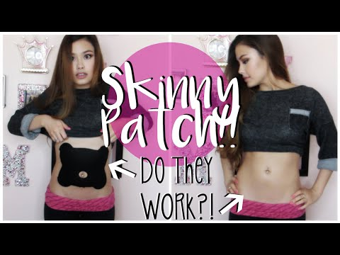GET SKINNY FAST? SLIMMING BODY PATCH | First Impressions ♥ Leaders Hot Summer Belly Patch Review