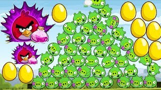 Angry Birds - 13 GOLDEN EGG REACH GOLDEN STAR POWER-UP R.I.P BAD PIGGIES