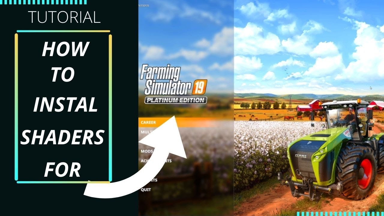 Download How to instal ReShaders for Farming Simulator 2019