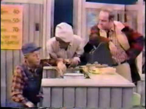 Bing Crosby, Flip Wilson, & Tim Conway - Diner Sketch