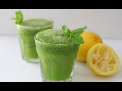 Mint Lemon Drink (How To)