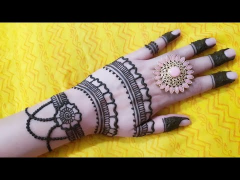 Unique and Attractive Mehendi Design | Beautiful Henna Tattoo | Indu's Henna thumbnail