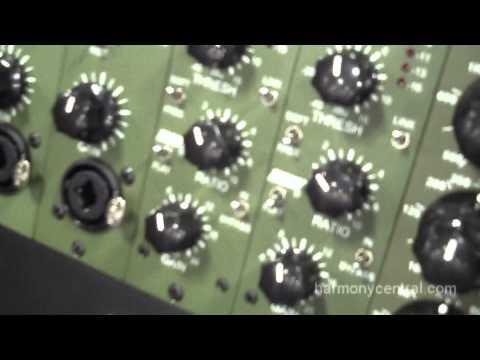 JDK Audio V10 mic preamp and V12 compressor 500-series modules