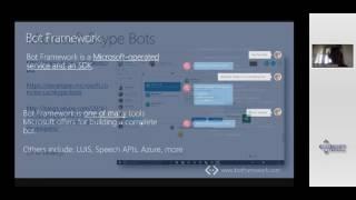 Разработка чат-ботов на платформе Microsoft Azure и Microsoft Bot Framework (Dev Labs 2017)