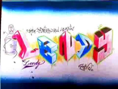 graffitis con nombres chidos bocetos youtube