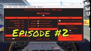 Cockpit Manager 2016 Episode 2 - More Points!