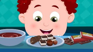 The Food Song | Schoolies | Cartoon Video For Babies | New Kids Show by Kids Channel