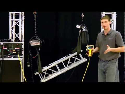 CM Chain Hoist Demo by Rose Brand