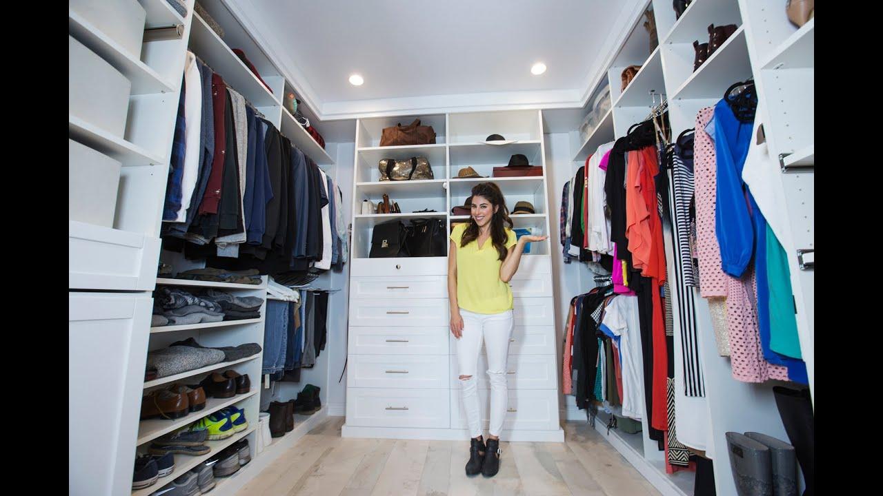Wardrobe Closet Makeover