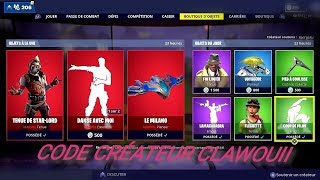 BOUTIQUE FORTNITE DU 1er MAI 2019 - FORTNITE ITEM SHOP APRIL 1st MAY 2019 NOUVEAU PACK !!!