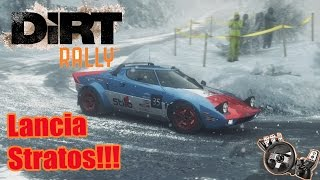 Dirt Rally – Lancia Stratos na Neve! G27
