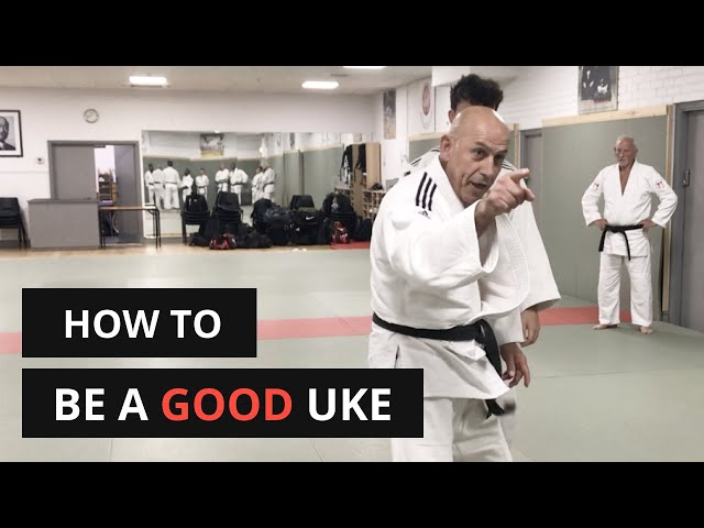 How to get thrown properly in Judo | How to be a good Uke