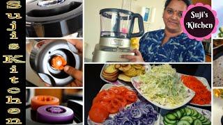 Mixie வேண்டாம் இது இருந்தால் போதும்||Tefal Food Processor Demo||Make Cooking Easy Using this machine