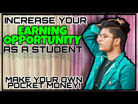 INCREASE EARNING OPTIONS AS STUDENT | HOW TO EARN AS A STUDENT | WAYS TO EARN AS A STUDENT 👦📖🎒