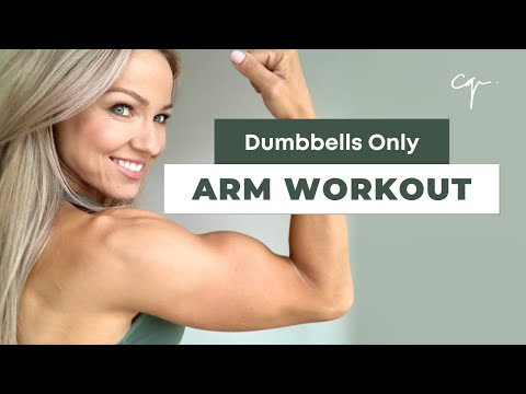 Arm Workout at Home | Dumbbells Only