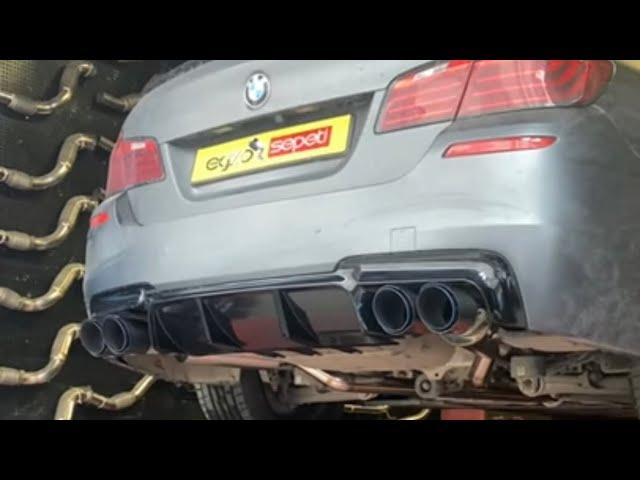 BMW F10 M5 DÖNÜŞÜM, EGZOZ VE YAZILIM
