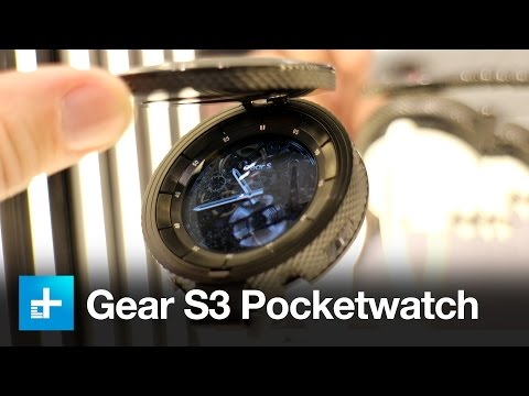 Samsung Gear S3 Pocketwatch - Hands On