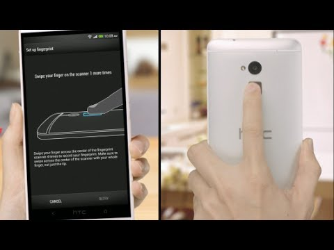 HTC One max - Quickly unlock your phone with your fingerprint