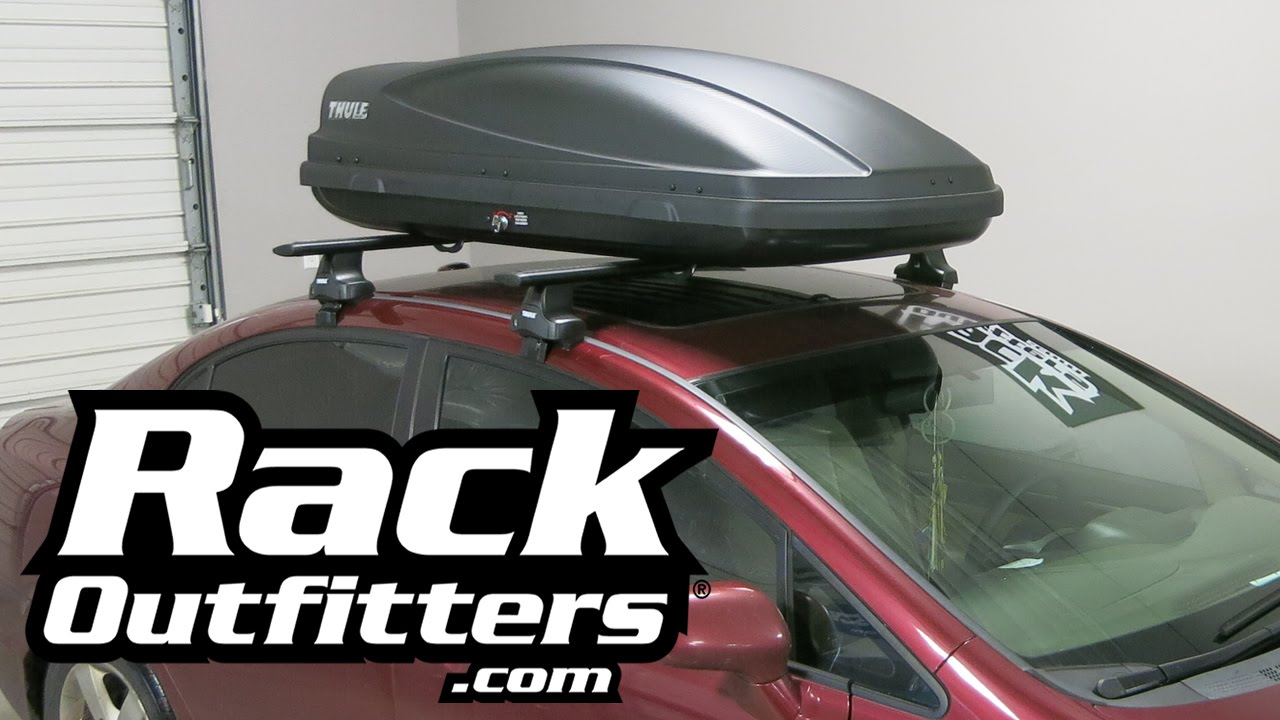 Best Cargo Box for Honda Civic Sedan the Thule Force Medium from Rack Outfitters & Best Cargo Box for Honda Civic Sedan the Thule Force Medium from ...