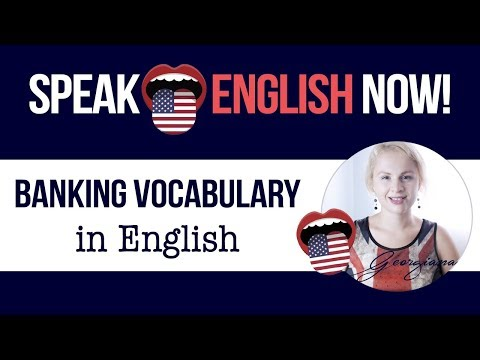 #057 Banking Vocabulary in English - Lend or Borrow